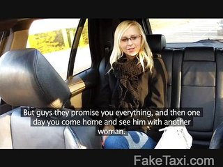 FakeTaxi - Sexy blonde in payback revenge