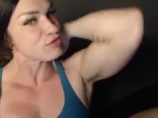 She will make you cum hard with her curvy muscular body