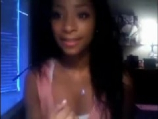 OMEGLE GAME 8 Hot Ebony Girl Showing Is Body