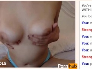 18yo Canadian Cums Twice on Omegle - Part 1 (Part 2 in Private)