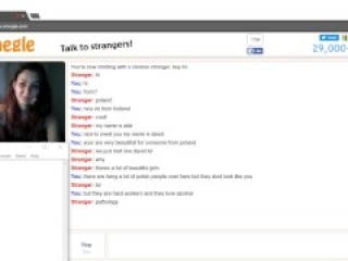 Omegle Polish girl shows amazing boobs