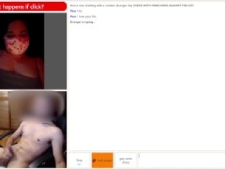Omegle Slut Flashes Huge Tits and Fingers Wet Pussy