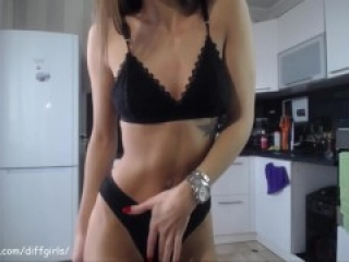 amzing girl show small tits