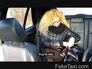 FakeTaxi - Czech beauty takes on big cock