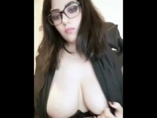 Gótic webcam, nice tits
